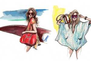 The Inslee Haynes Fashion Illustrations are Very Impressive
