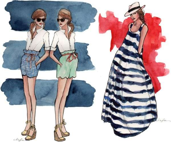 Inslee Haynes Fashion Illustrations 2