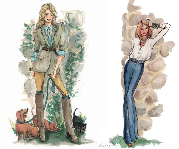 Inslee Haynes Fashion Illustrations 6