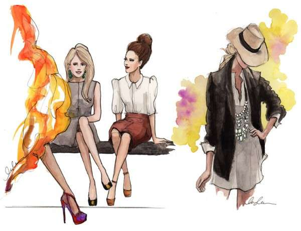 Inslee Haynes Fashion Illustrations 8