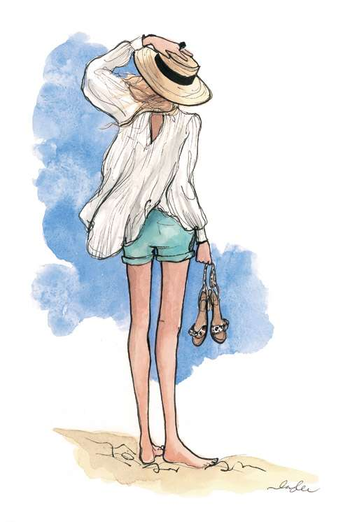 Inslee Haynes Fashion Illustrations 9