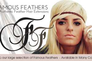 DIY Hair Feather Extensions by Famous Feathers Keep Your Look Modern