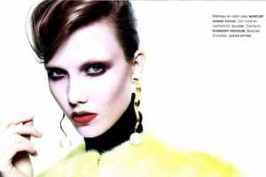 The Karlie Kloss for Numero Magazine Shoot is Gloomy and Gothic