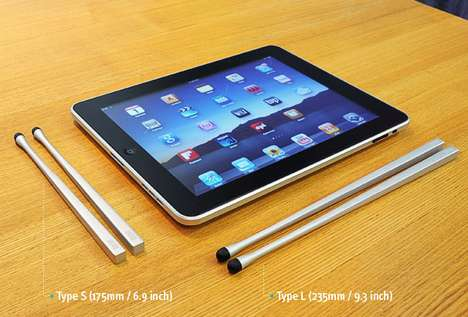 Chopstakes Multitouch Styli for iPad