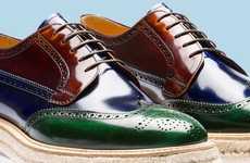Multi-Colored Couture Kicks
