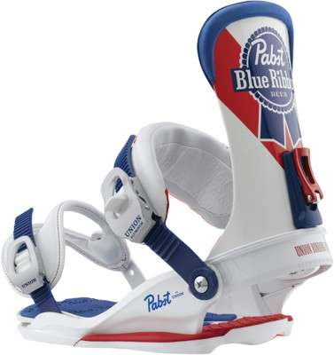 Pabst x Union Snowboard Bindings