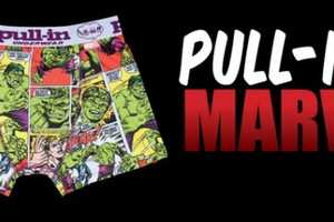 Wear the Pull-In Underwear x Marvel Collection with Justice