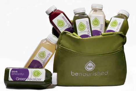 Empowering Cleansing Juices - Toronto-Based Company benourished Knows Just What Your Body Needs