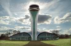 Shimmering Sky-High Airports