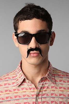 Facial-Haired Frames - The Sunstache is a Seriously Sophisticated Set of Shades