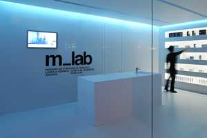 The M_lab Store Represents Futuristic Branding at Its Best