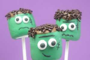The Frankenstein Marshmallows are Perfect for Halloween