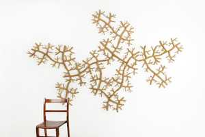 The STICK by Jiaqi Zhou is an Eco-Friendly Decoration for Walls