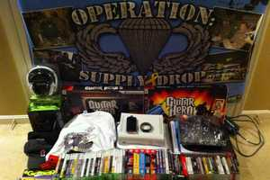 Operation Supply Drop Donates Video Games to Deployed Soldiers