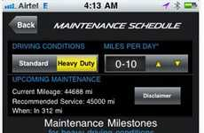 Automotive Maintenance Reminder Apps - The MyMazda App Tells You When Its Time to Service Your Mazda