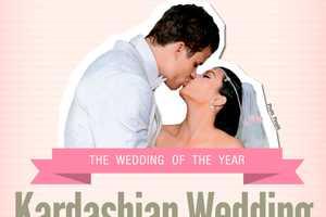 The Kardashian Wedding vs Average Wedding Infographic is Mind Blowing