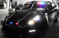 Criminal-Catching Supercars - The Nissa GT-R Police Car is Built for High Speed Pursuits
