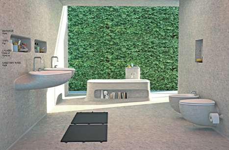 Flow Bathroom Concept