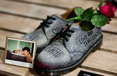 Cultivating Charity Footwear - Zouk x Dr. Martens Custom 1461 Shoes Auctions for a Great Cause