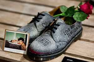 Zouk x Dr. Martens Custom 1461 Shoes Auctions for a Great Cause
