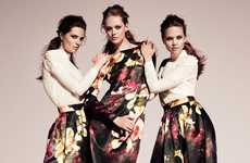 H&M Conscious Fall 2011 Campaign in Head-to-Toe Floral Prints