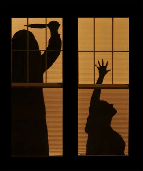 Haunted House Silhouettes