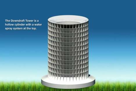 Downdraft Tower
