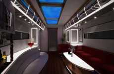 Marvelous Mobile Mansions - The Marchi EleMMent Motorhomes are Insanely Plush Portable Palaces