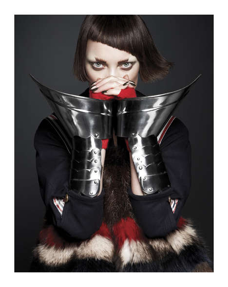 Chic Apocalyptic Editorials - The Naty Chabanenko by Ishi Shoot is Warrior-Inspired