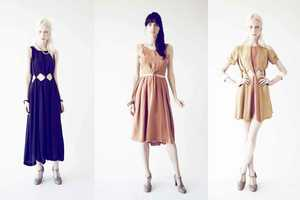 The Samantha Pleet Spring 2012 Collection is Full of Revealing Dresses