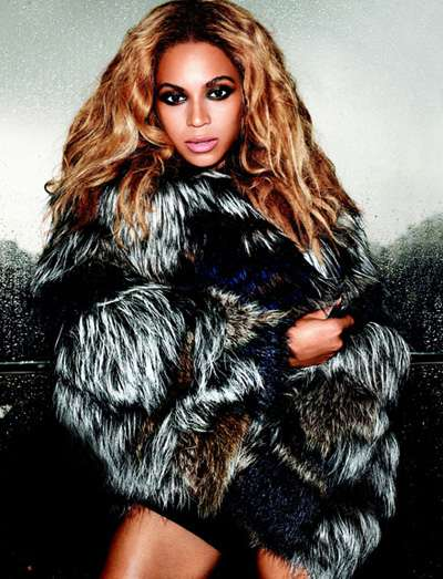 Lioness Tress Photoshoots - The Beyonce US Harper's Bazaar November 2011 Issue Gets Sassy