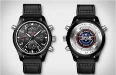Ultra-Slick Aviation Timepieces - The IWC Top Gun Pilot Watch Flies into the Danger Zone