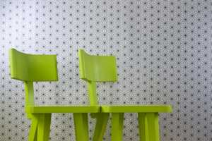 The Corner Chair is Designed Specifically for Twosomes