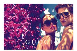 The Gucci Cruise Spring 2012 Shoot Gets Spring Flowing