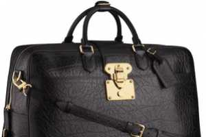 The Louis Vuitton 2011 Mens Bag Collection is Masculine Couture