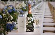 The Royal Wedding Perrier Jouet Bottle Contains a Romantic Background
