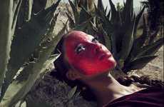 Desert Floor Face Masks
