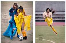 Stylish Soccer Games - 90 Minutes by Mason Poole Pairs Fancy Frocks with Cleats