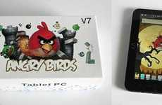 Enraged Avian Computers - The Wopad V7 Angry Birds Tablet is the Ultimate in Meta-Tech