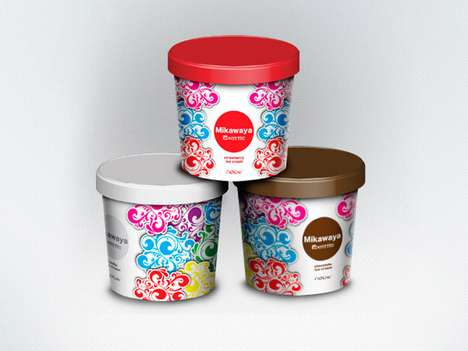 Mikawaya Ice Cream Packaging
