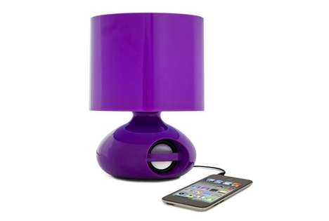 iHome Speaker Dock Table Lamp