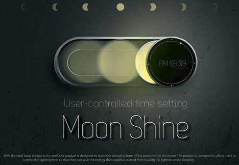 Moon Shine Clock
