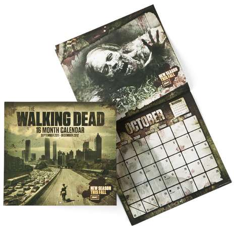 Walking Dead Wall Calender