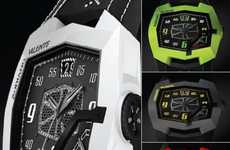 Luxury Supercar Timepieces - The Lamborghini AV-L001 Watch Costs a Whopping $35,000