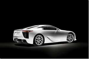 The 2012 Lexus LFA Luxury Sportscar has a Hefty Price Tag