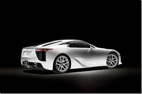 Recession-Proof Roadsters - The 2012 Lexus LFA Luxury Sportscar has a Hefty Price Tag