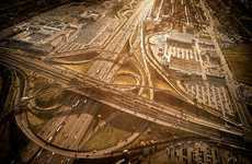 Ethereal Aerial Landscape Captures