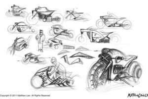 Electric Motorcycle Design by Mathew Law is Stunning
