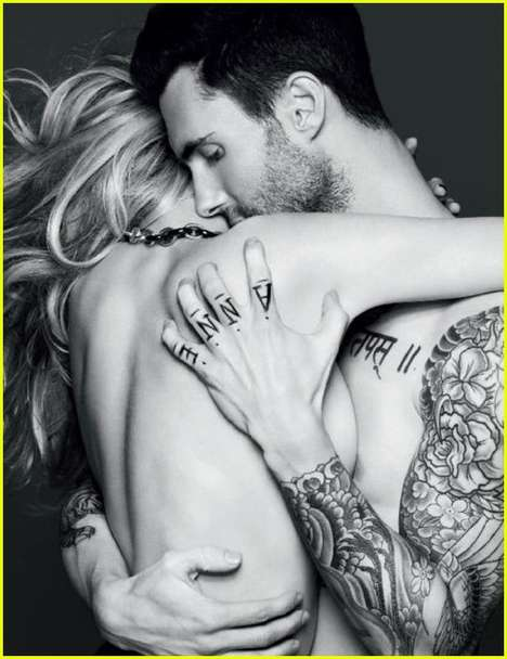 Vogue Russia Adam Levine