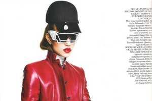 The Freja Beha Erichsen Vogue UK October 2011 Spread is Fierce